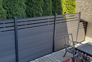 multi-family Composite Fencing
